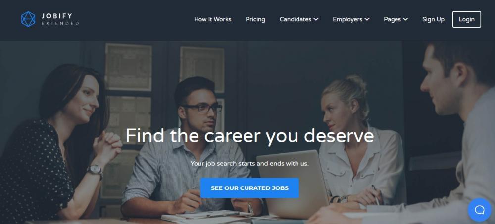 Jobify WordPress Theme