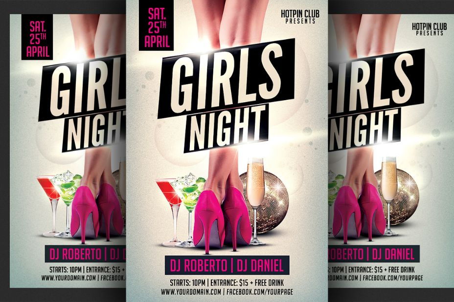 Ladies Night Party Template