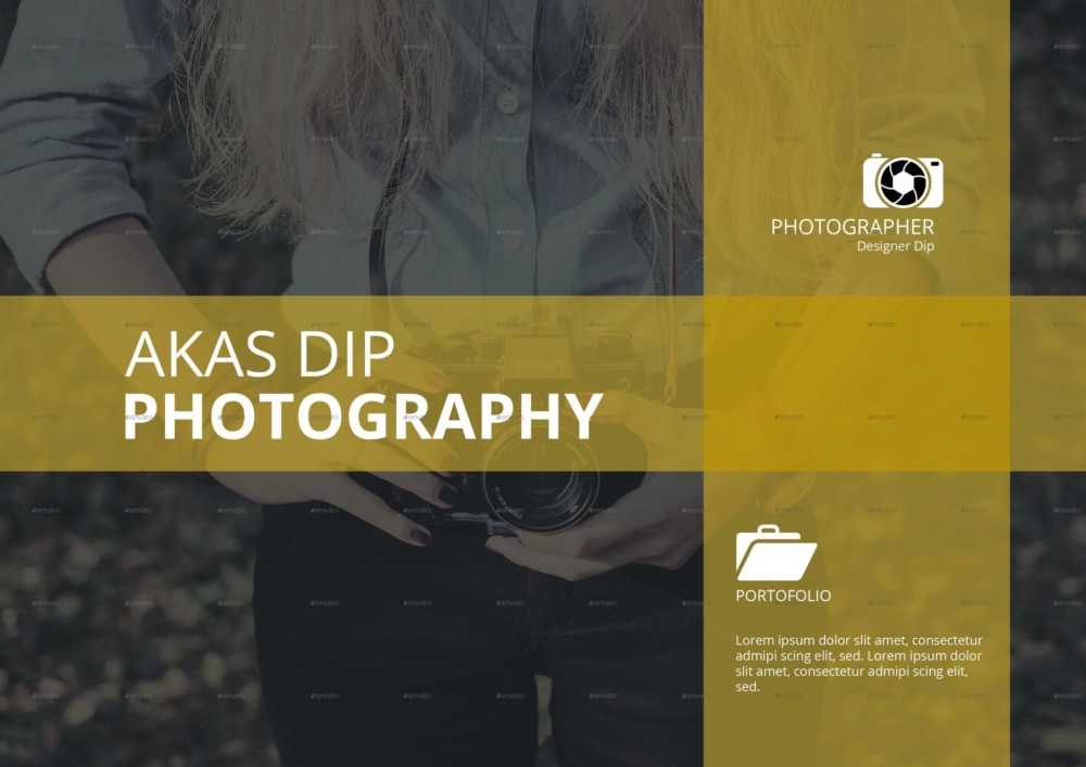 Layered Photography Proposal Template