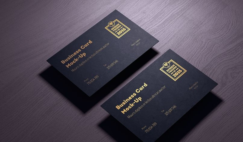 Logo and Business Card Mockup PSD