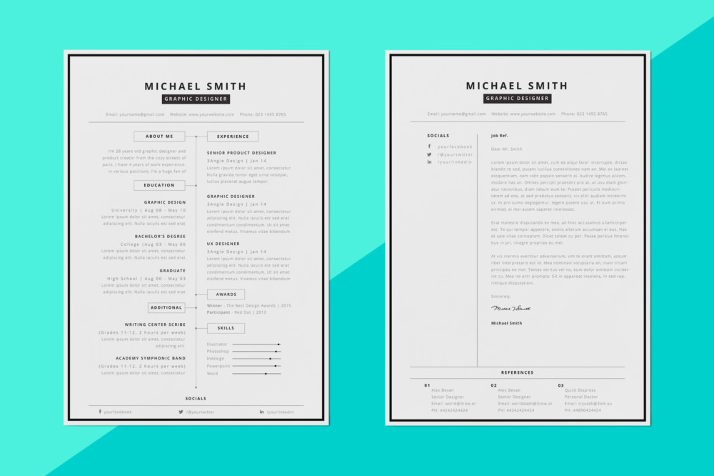 MS Word Business Resume Template