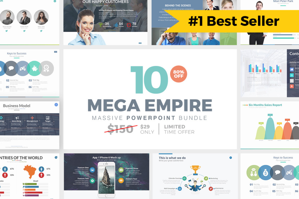 20 professional powerpoint template for corporates and