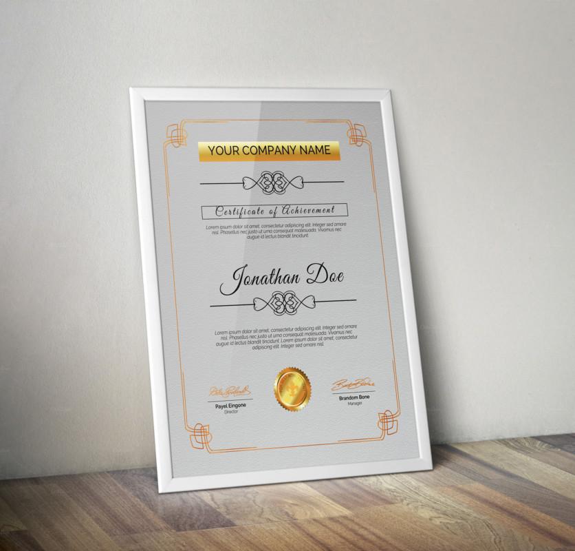 Miltipurpose Certificate Template