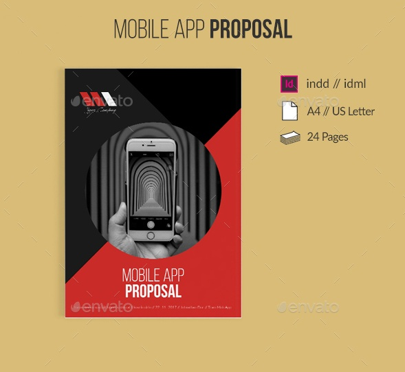 5 Technical Proposal Template Word Psd And Indesign Format