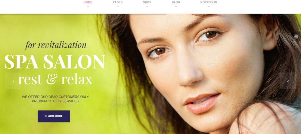 Mobile Friendly WordPress Spa and Salon Theme
