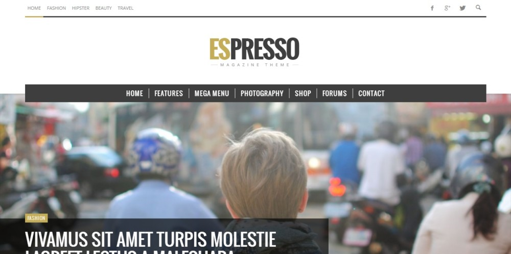 Modern WordPress Newspaper Theme