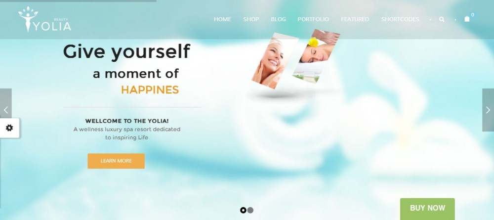 Modern WordPress Spa Theme
