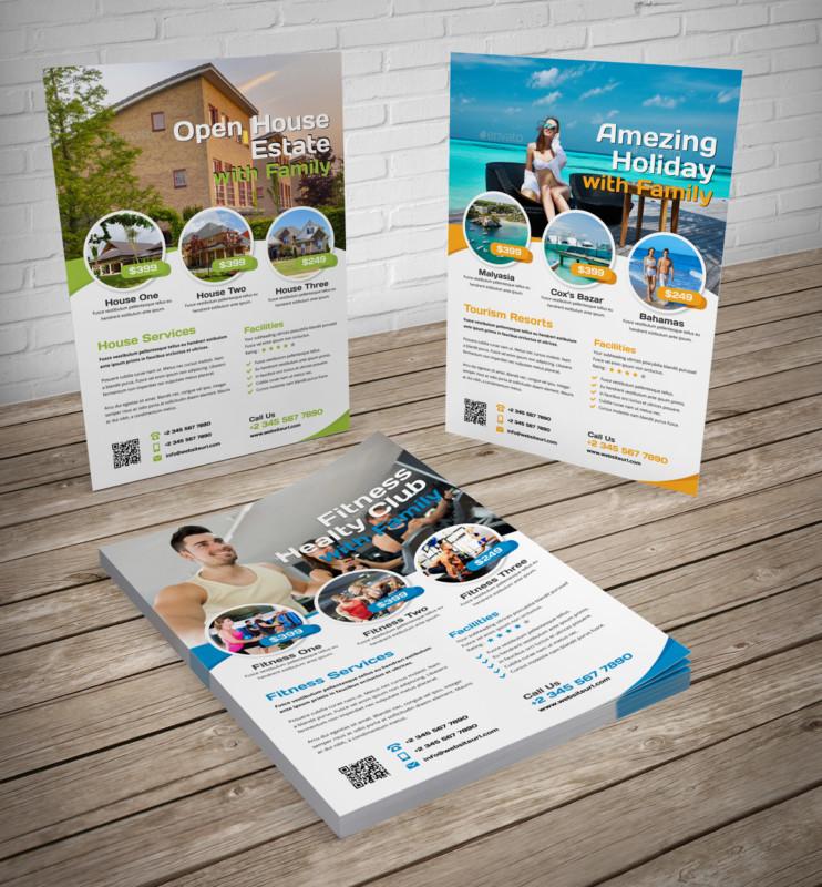 Multi Purpose Sales Flyer Template