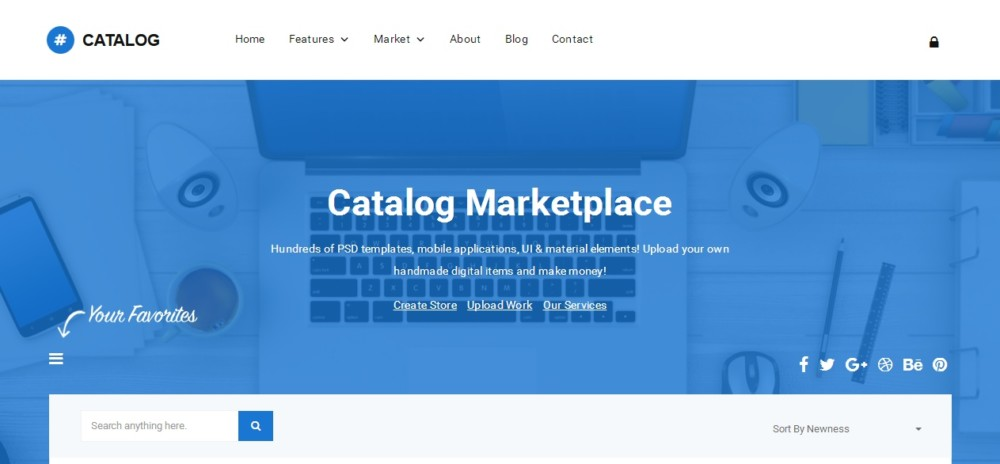 Multi Vendor WordPress Marketplace Theme