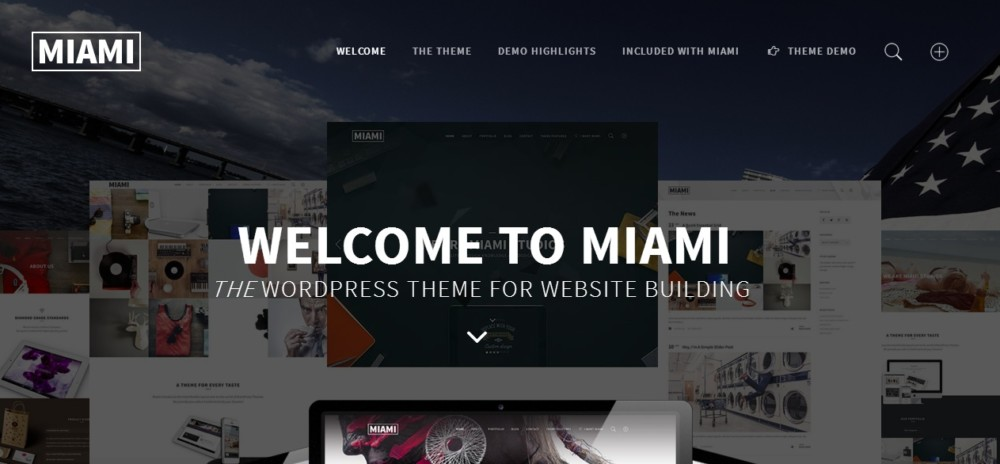Multi and Simgle Page WordPress Theme