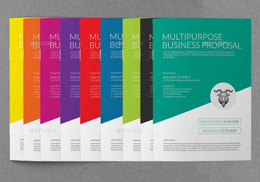 Multipurpose Software Development Proposal Template