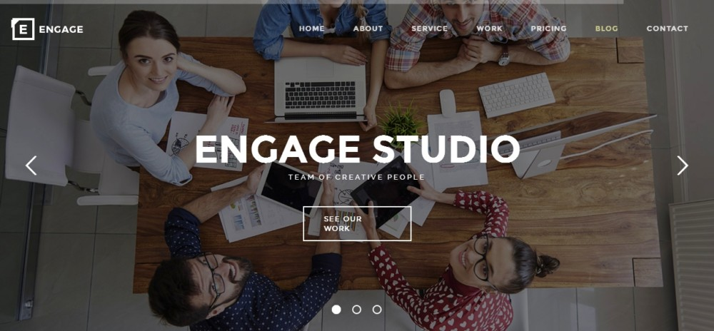 One Page Agency WordPress Theme