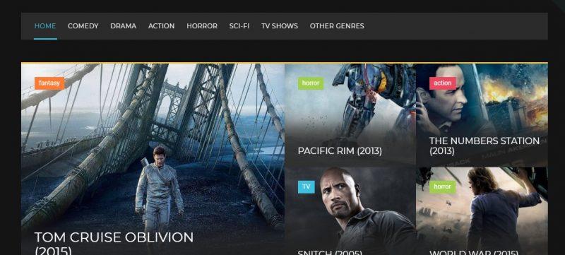 Online Cinema WordPress Theme