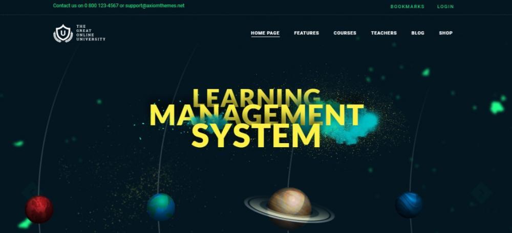 Online University WordPress Theme