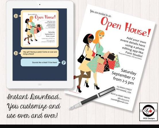 Open House Business Party Flyer