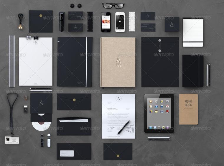 PSD Branding Mockup Design