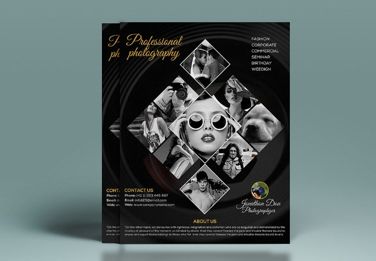Photography Ad Flyer Template