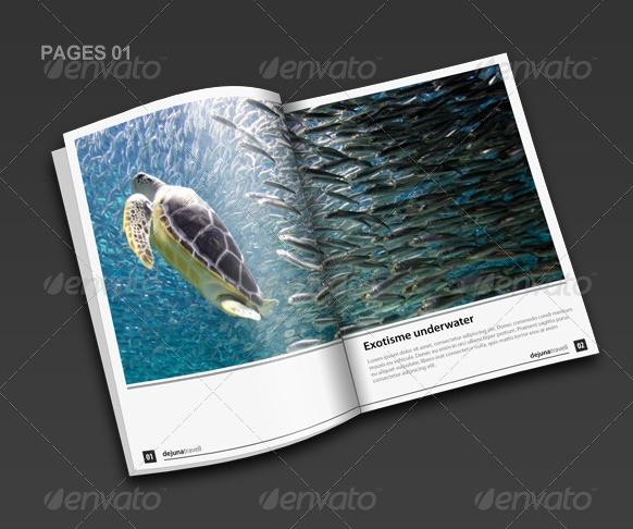 Printable Tourism Brochure Template