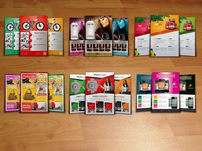 Product Flyer Template Bundle