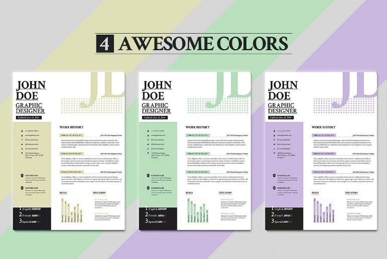 Professional Consulting Resume Template