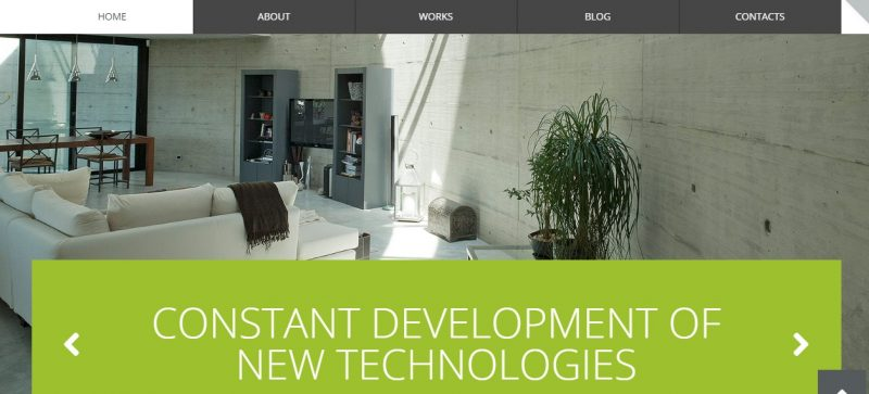 Responsive Interior Design WordPress Theme