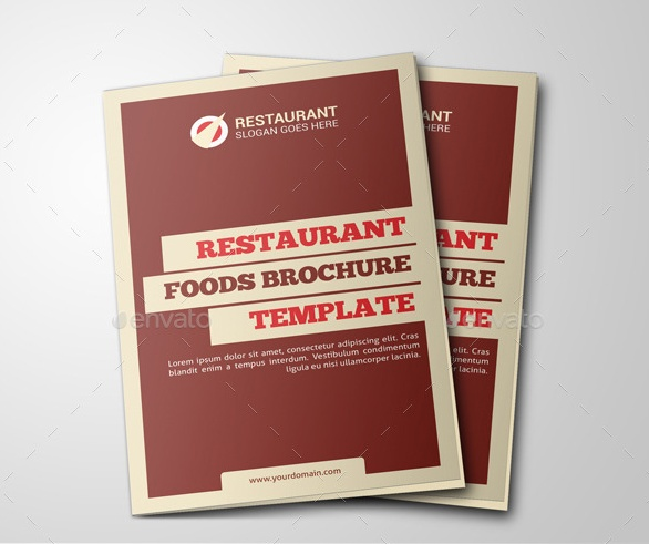 Restaurant Food Brochure Template