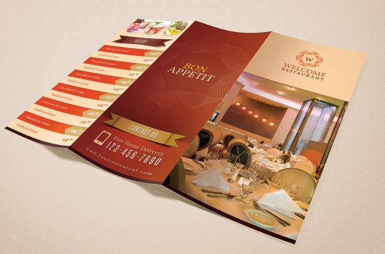 Restaurant Menu Card Pack