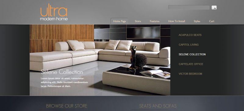 SEO Friendly Furniture WordPress Theme