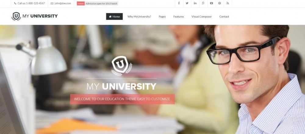 SEO Optimized WordPress Theme