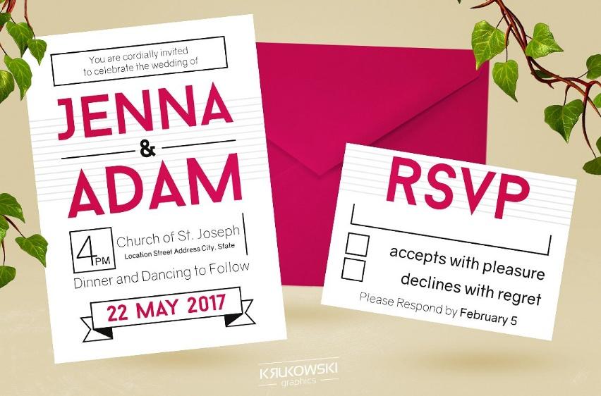 Simple Anniversary Invitation Template