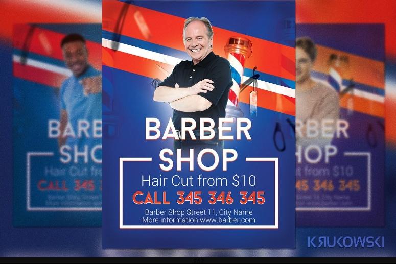Simple Barber Resume Template