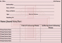 Simple Medical Certificate Template