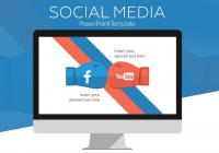 Social Powerpoint Template PPT