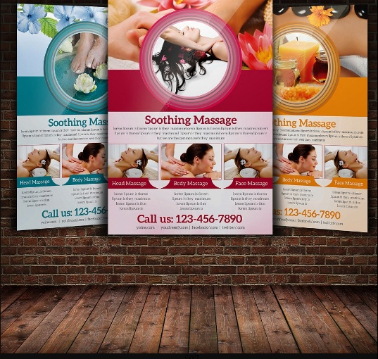 Spa Marketing Flyer Template