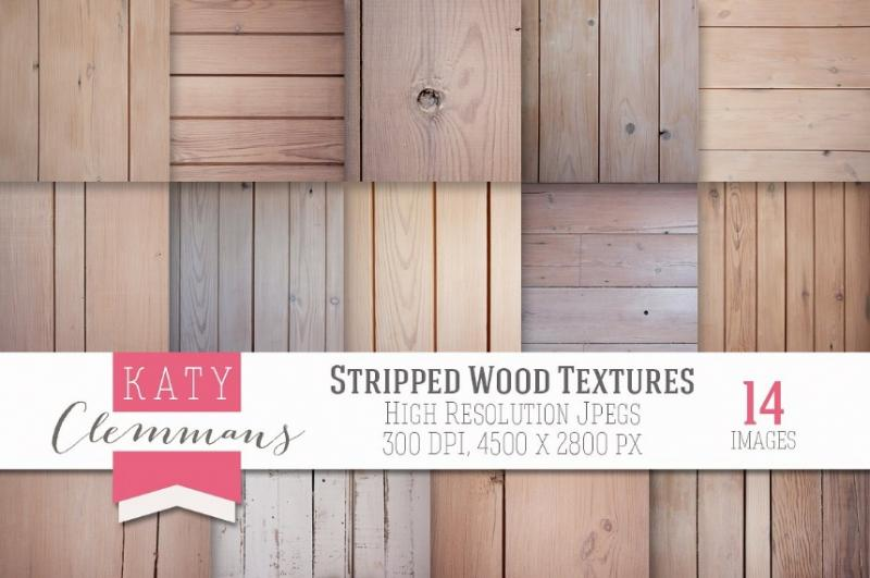 Stripped Wood Texture