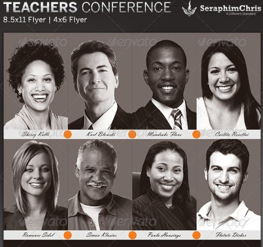 Teacher Conference Flyer Template