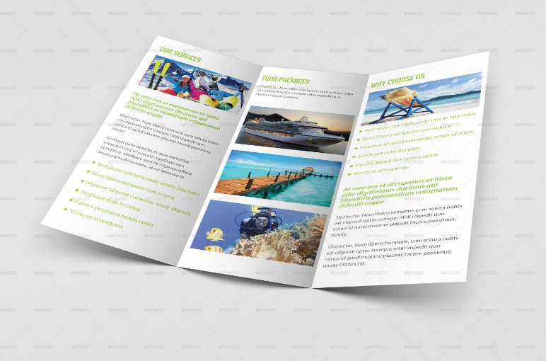 Travel and Toursim Brochure Template