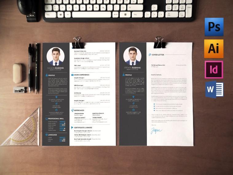 Web Designer Resume Template PSD