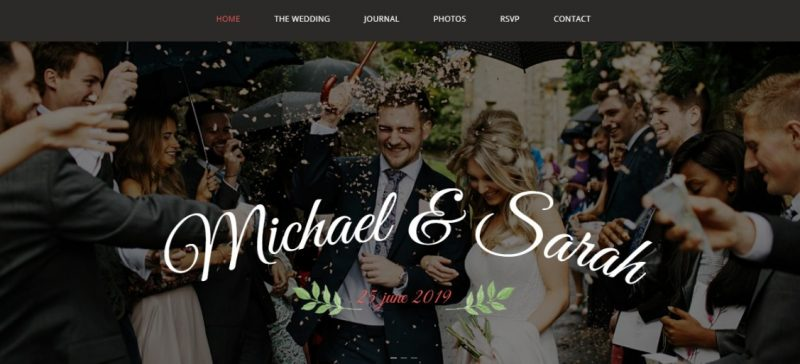 Wedding Ideas WordPress Theme