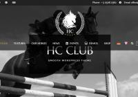 WordPress Horse Club theme