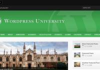 Wordpress University Theme