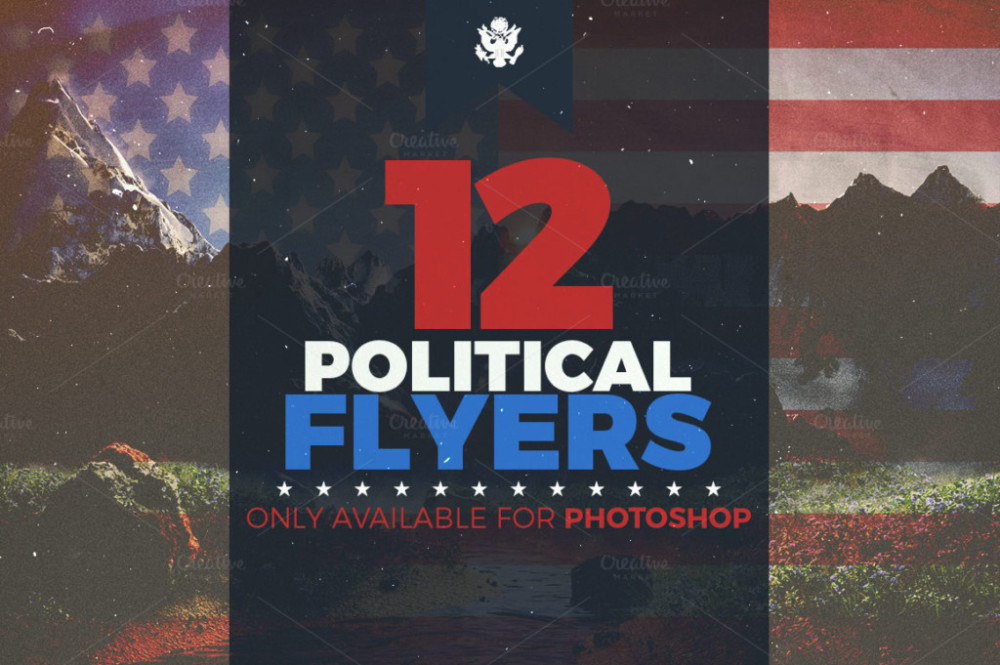 15 Best Political Flyer and Poster PSD Templates Graphic Cloud – Political Flyer Template
