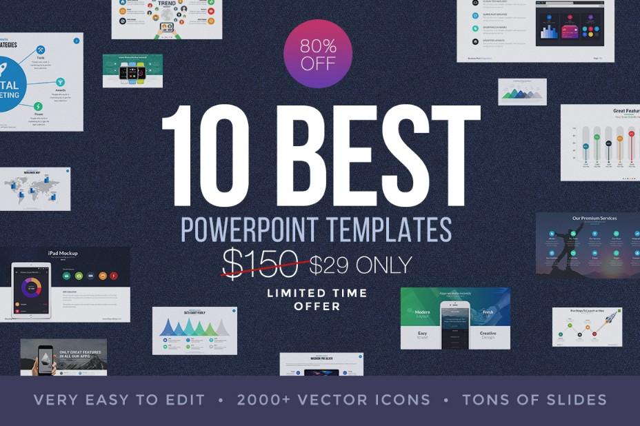 10-best-business-powerpoint-presentation-template-bundle