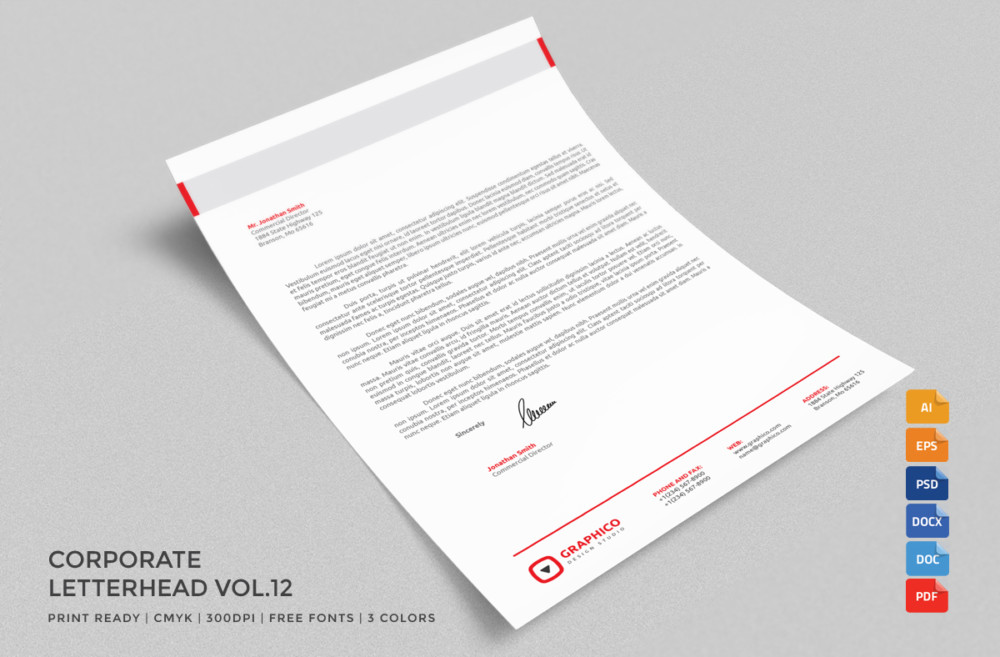 free-examples-of-company-letterhead-tempaltes
