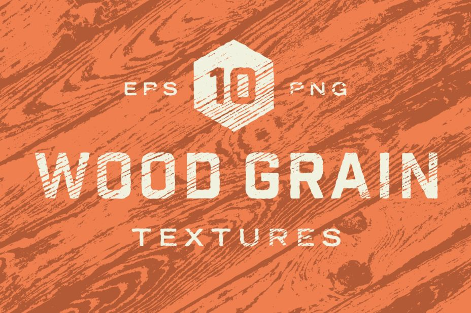 10 wood Grain Textures PNG