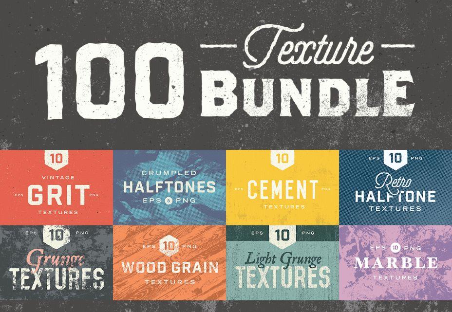 100 Paper Texture Bundle
