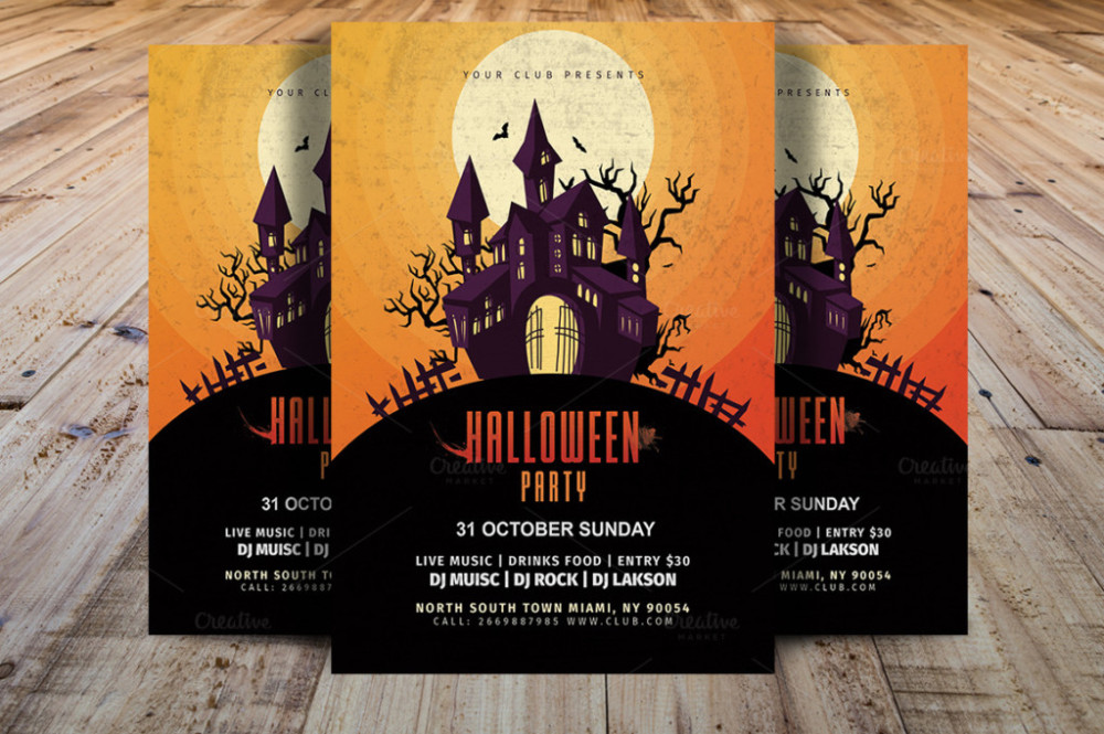 invitations-printable-halloween-invitations-halloween-party-flyer