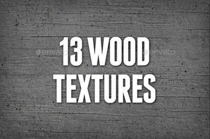 13 Seamless Wood Textures pack