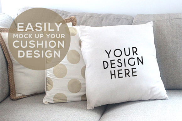 15 Throw Pillow Amp Cushion Mockups Psd Templates Graphic