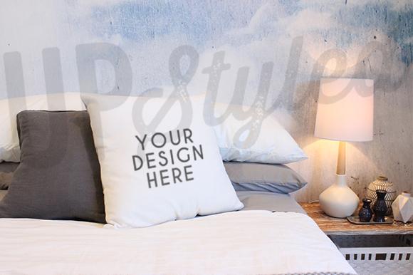 Bed-&-Pillow-Mockup